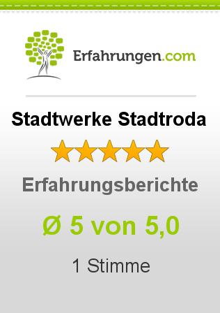 Stadtwerke Stadtroda Erfahrungen