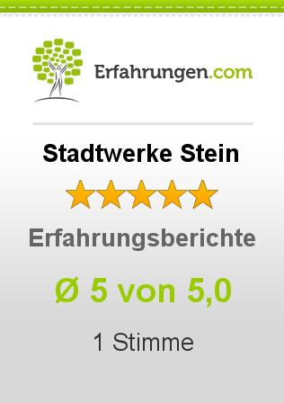 Stadtwerke Stein Erfahrungen