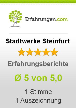 Stadtwerke Steinfurt Erfahrungen