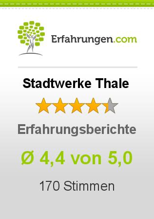Stadtwerke Thale Erfahrungen