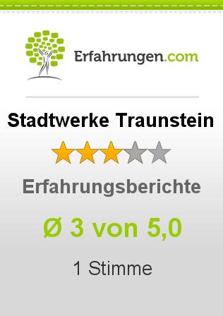 Stadtwerke Traunstein Erfahrungen