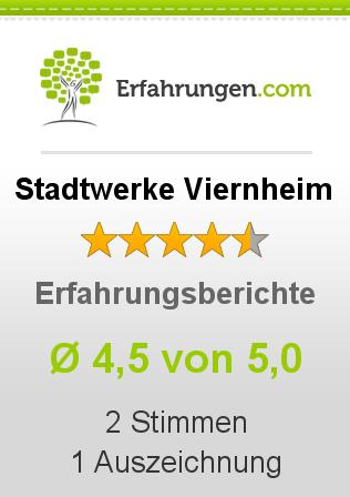 Stadtwerke Viernheim Erfahrungen