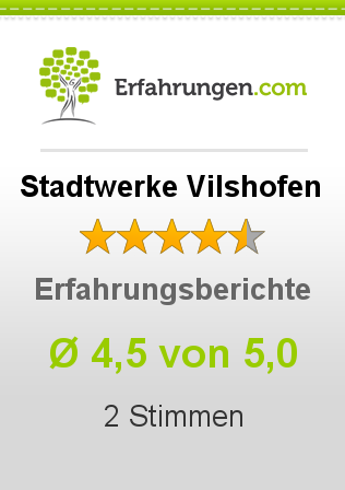 Stadtwerke Vilshofen Erfahrungen