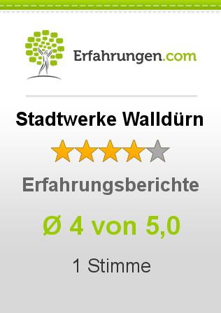 Stadtwerke Walldürn Erfahrungen