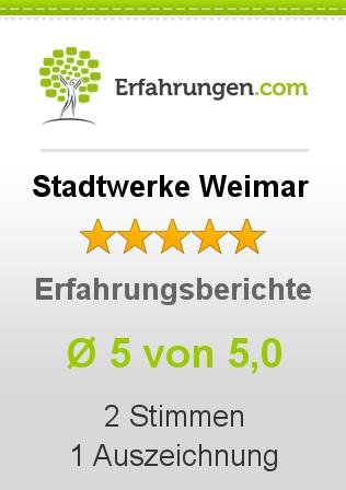 Stadtwerke Weimar Erfahrungen
