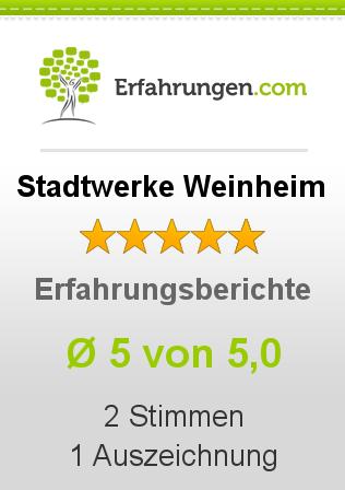 Stadtwerke Weinheim Erfahrungen