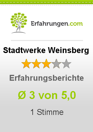 Stadtwerke Weinsberg Erfahrungen