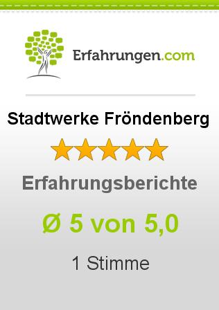 Stadtwerke Fröndenberg Erfahrungen