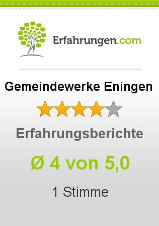 Gemeindewerke Eningen Erfahrungen