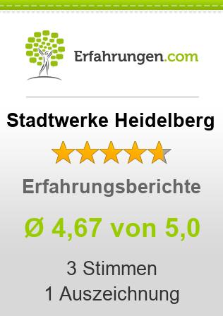Stadtwerke Heidelberg Erfahrungen