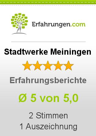 Stadtwerke Meiningen Erfahrungen