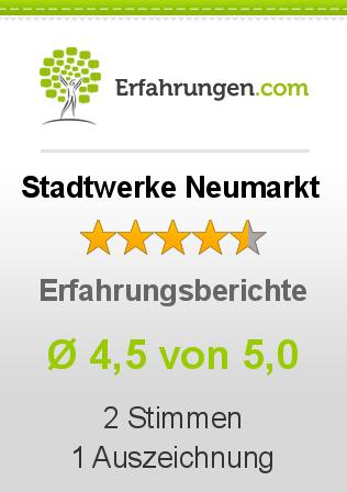 Stadtwerke Neumarkt Erfahrungen