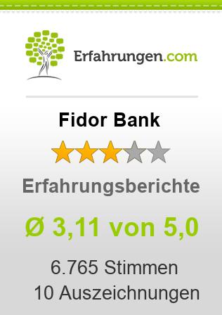 Fidor Bank Erfahrungen