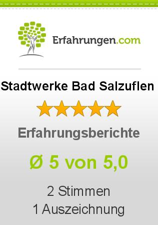 Stadtwerke Bad Salzuflen Erfahrungen