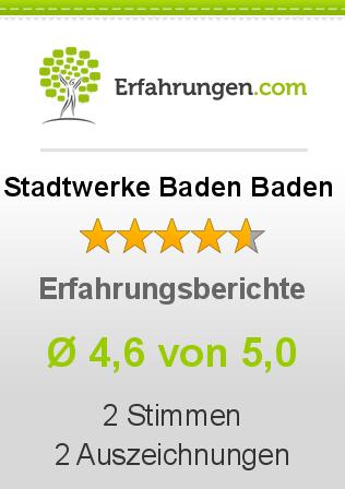 Stadtwerke Baden Baden Erfahrungen