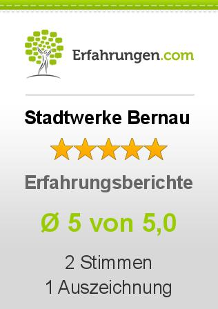 Stadtwerke Bernau Erfahrungen