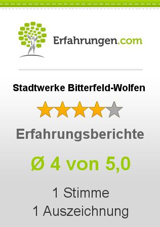 Stadtwerke Bitterfeld-Wolfen Erfahrungen