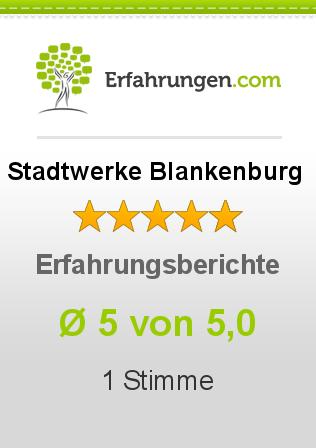 Stadtwerke Blankenburg Erfahrungen