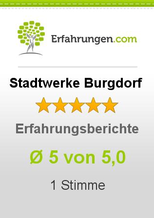 Stadtwerke Burgdorf Erfahrungen