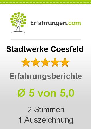 Stadtwerke Coesfeld Erfahrungen