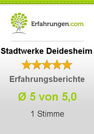 Stadtwerke Deidesheim Erfahrungen