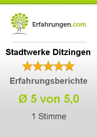 Stadtwerke Ditzingen Erfahrungen
