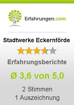 Stadtwerke Eckernförde Erfahrungen