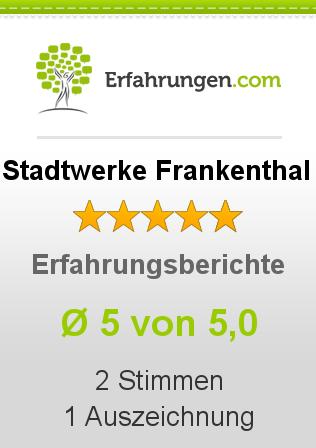 Stadtwerke Frankenthal Erfahrungen