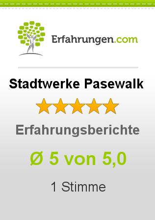 Stadtwerke Pasewalk Erfahrungen