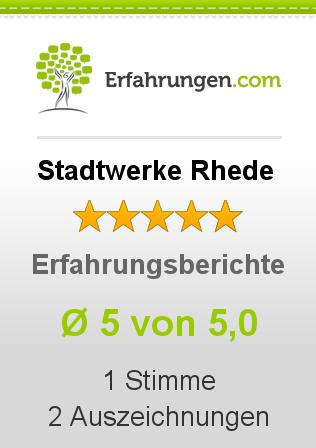 Stadtwerke Rhede Erfahrungen