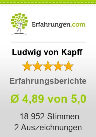Ludwig von Kapff Erfahrungen