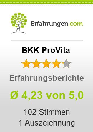 BKK ProVita Erfahrungen