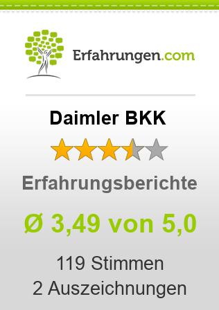 Daimler BKK Erfahrungen