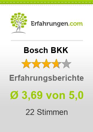 Bosch BKK Erfahrungen