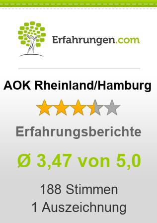 AOK Rheinland/Hamburg Erfahrungen
