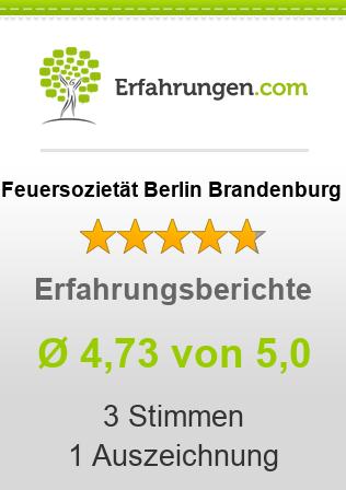 Feuersozietät Berlin Brandenburg Erfahrungen