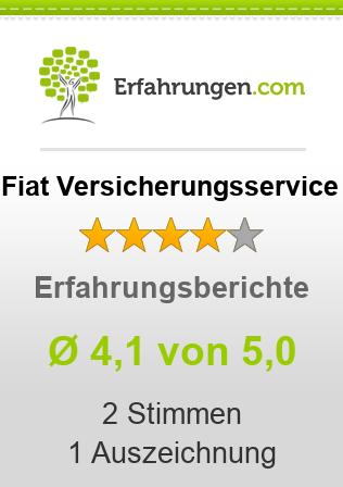 Fiat Versicherungsservice Erfahrungen