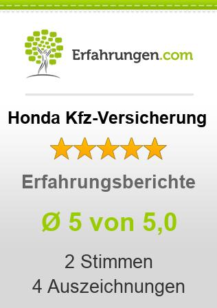 Honda Kfz-Versicherung Erfahrungen
