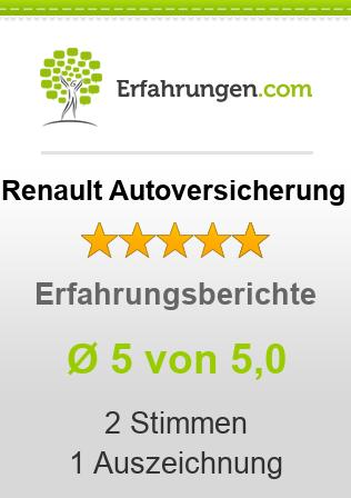 Renault Autoversicherung Erfahrungen