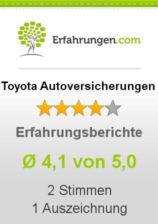 Toyota Autoversicherungen Erfahrungen