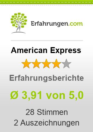 American Express (AmEx) Erfahrungen
