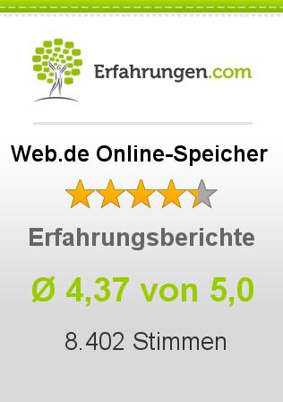 Web.de Online-Speicher Erfahrungen