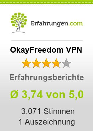 OkayFreedom VPN Erfahrungen