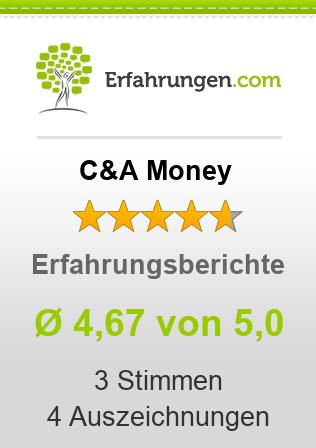 C&A Money Erfahrungen