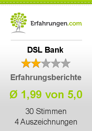 DSL Bank Erfahrungen