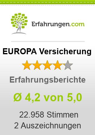 EUROPA Versicherung Erfahrungen