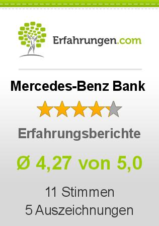 Mercedes-Benz Bank Erfahrungen