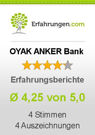 OYAK ANKER Bank Erfahrungen
