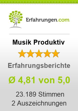Musik Produktiv Erfahrungen