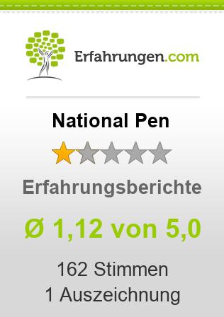 National Pen Erfahrungen